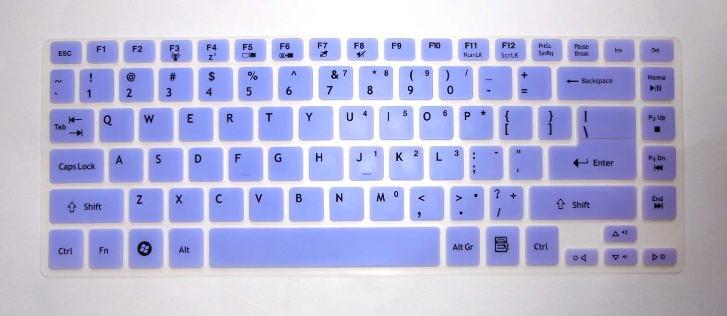 Keyboard Silicone Skin Cover Protector for Acer Aspire R7-571 R7-571G R7-572
