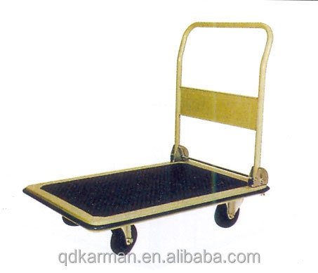 Warehouse Supermarket Trolley Tool Hand Truck Cargo Cart