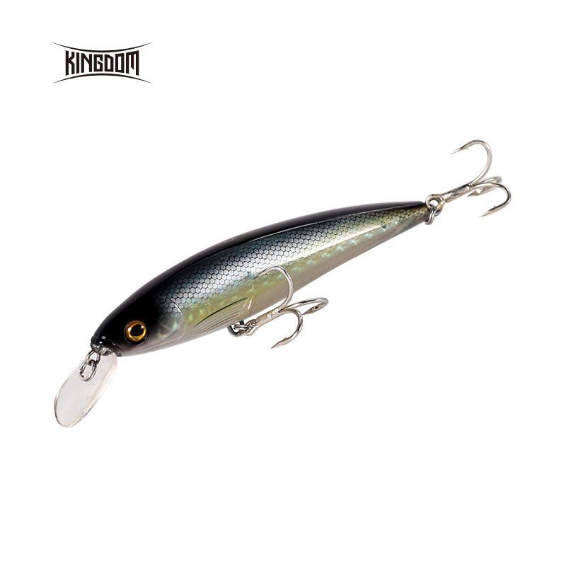 KINGDOM Model 5382A/5382B Floating Minnow 140mm / 40g Plastic Lip For Saltwater Five Colors Hard Bait Fishing Lures, Rich and colorful