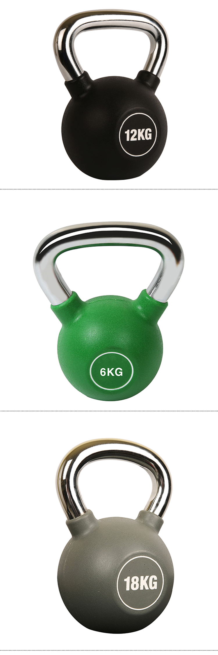 Fitness Training Weight Lifting New Type Durable PU Kettlebell