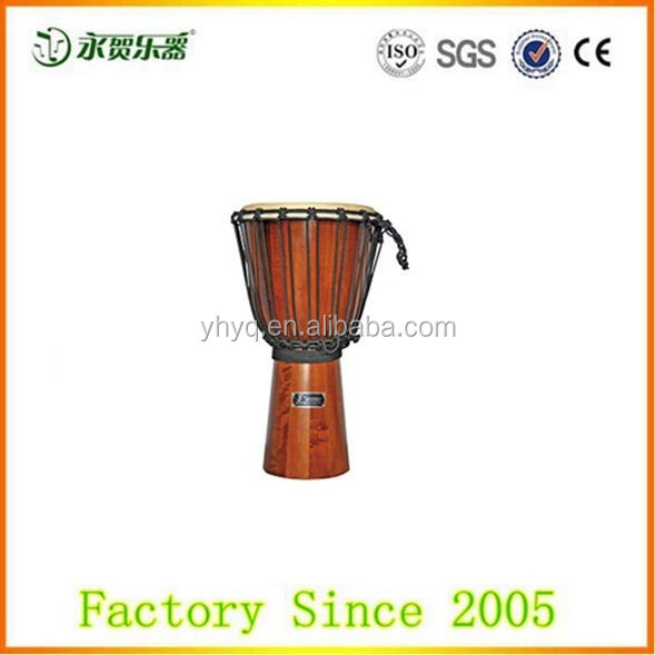 Handmade wooden Jammer Djembe Series, hand drum djembe percussion music instrument