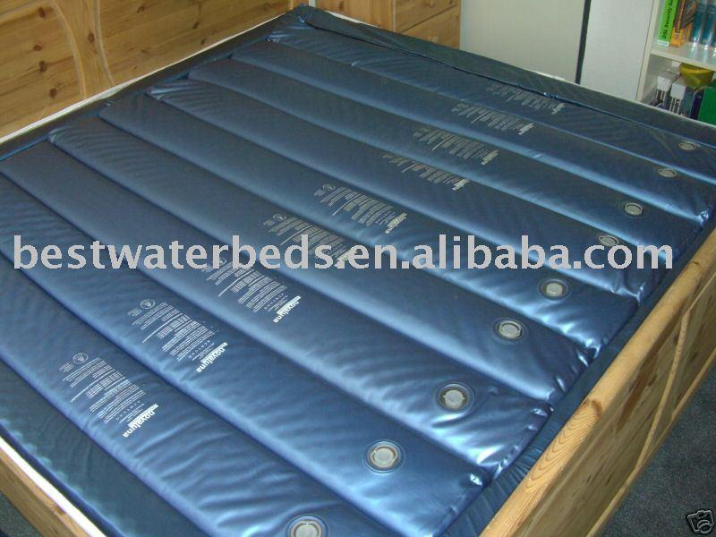 Waveless waterbed tubes