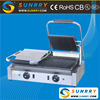 Industrial panni grill sandwich maker machine for pressing sandwich (SUNRRY SY-GR62C)