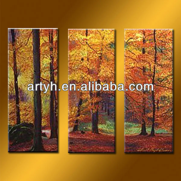 Latest Wall Art Canvas Painting Landscape Picture Printed