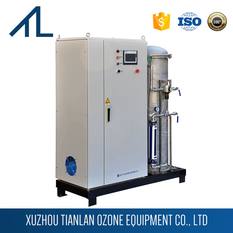 Printing and dyeing plant sewage treatment equipment water ozone machine