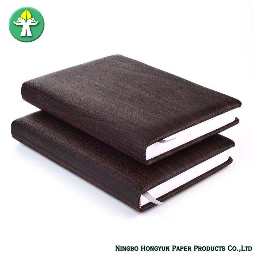 Top Grade Business A5 Leather Cover Notebook Printing