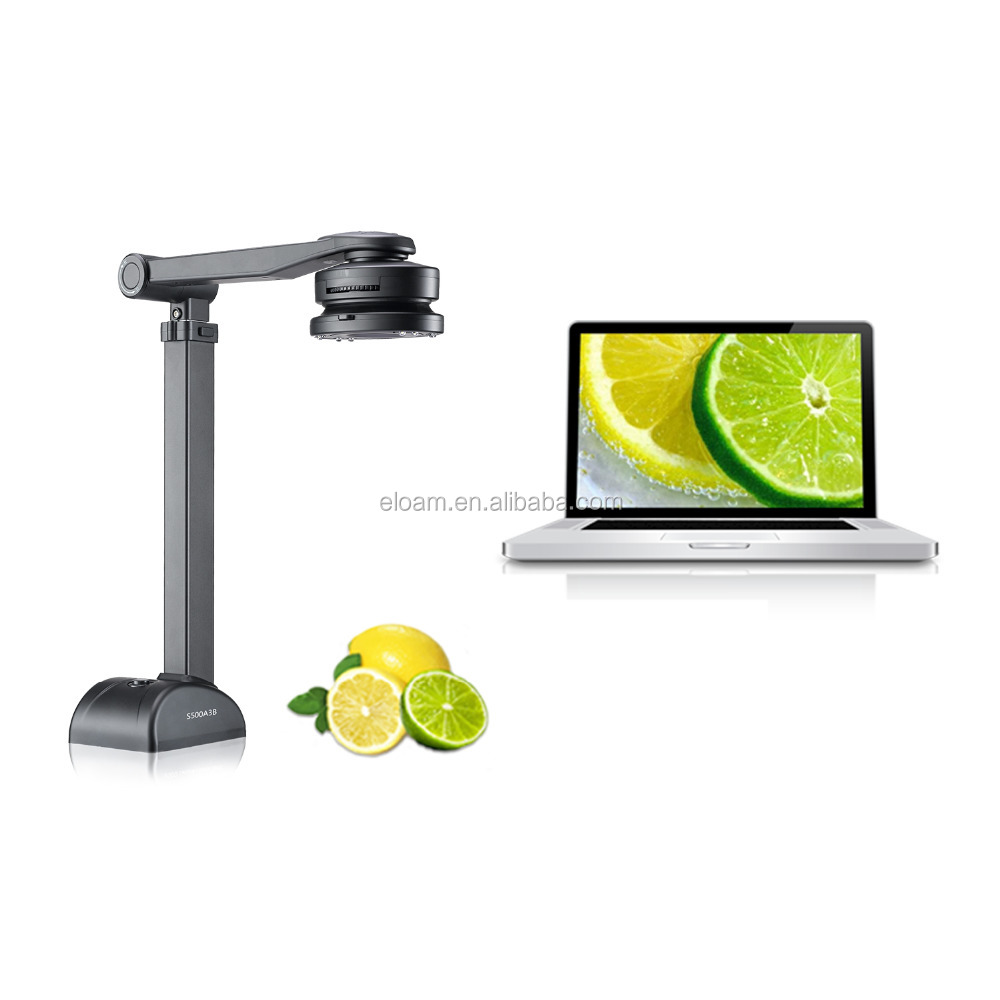 Presentation device for education document camera work with interactive whiteboard
