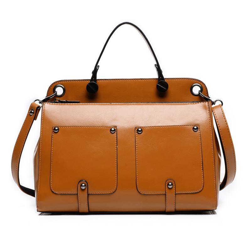 Hot Selling! New Oil Wax Bag Fashion Shoulder Handbag with ...