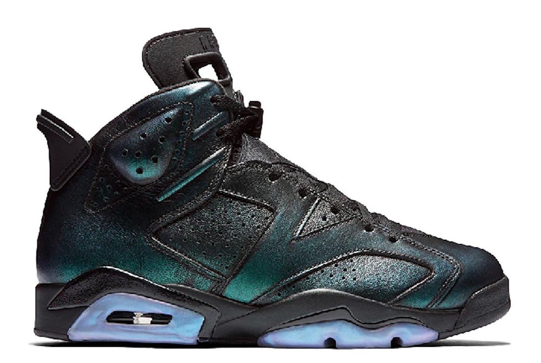 "online store 1142e 1ef2e Get Quotations · Nike Air Jordan Retro 6 ""All-Star"" Cameleon Men s  Basketball Shoes ..."