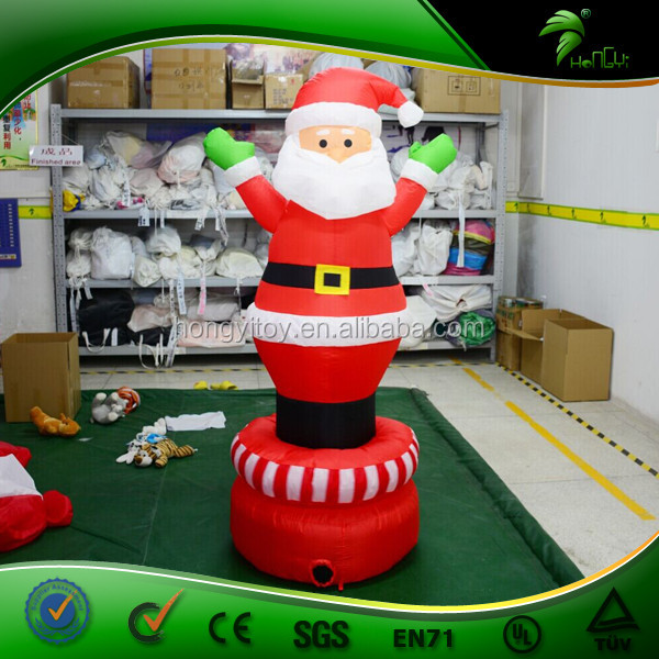 Inflatable Swing Santa Cluse Christmas Ornaments Home Decor Inflatables Santa Sack Party Tree