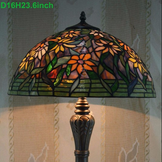 Tiffany duffnerkimberly colonial stained glass table lamp lmparas tiffany duffnerkimberly colonial stained glass table lamp aloadofball