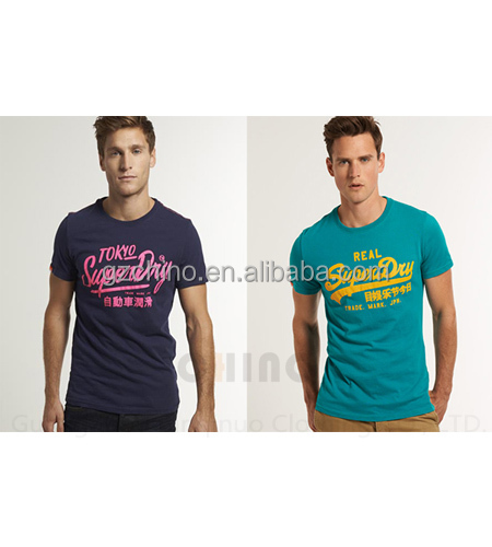 Men's Cotton Colorful T-shirt