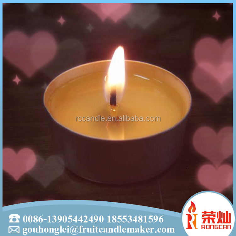 Direct factory round small mini heart shaped scented candle