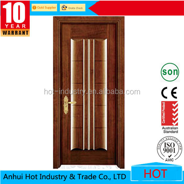 Alibaba China New Products Wooden Main Door Design/simple Teak Wood ...