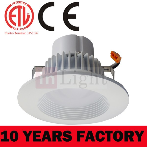 6 Inch Soft White Led Disk Light For Recessed Can Lighting