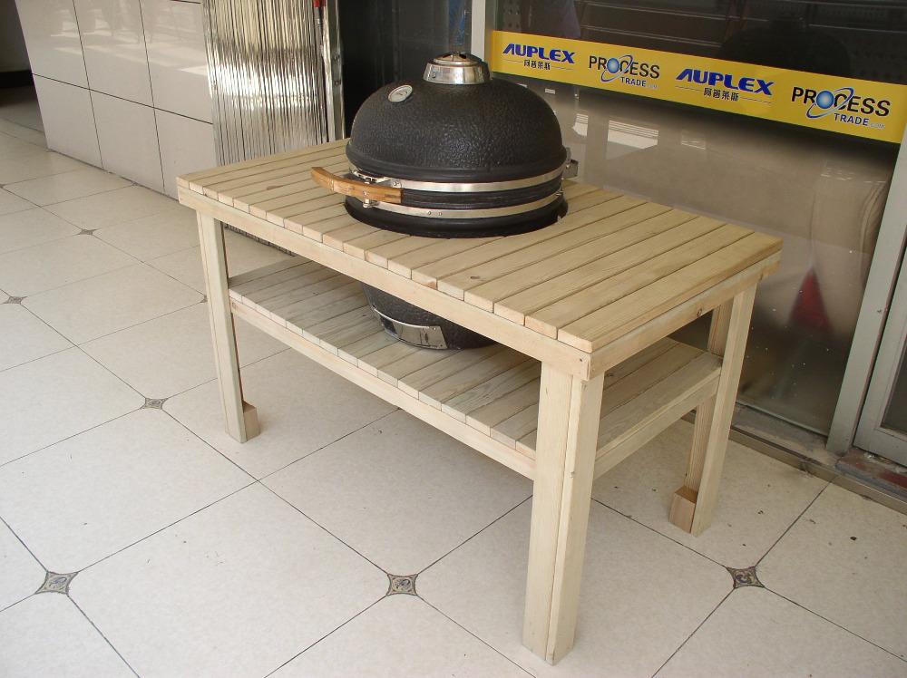 barbecue de table en bois dans tables pliantes de meubles. Black Bedroom Furniture Sets. Home Design Ideas