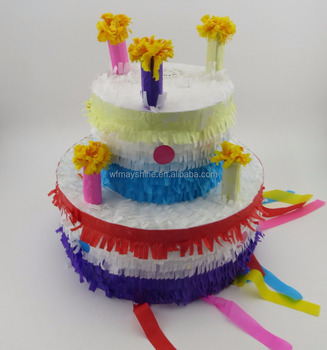 Birthday Cake Design Pinata for Birthday Party