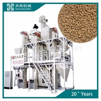 5 ton Capacity Cattle Feed Pellet Plant Modular Unit
