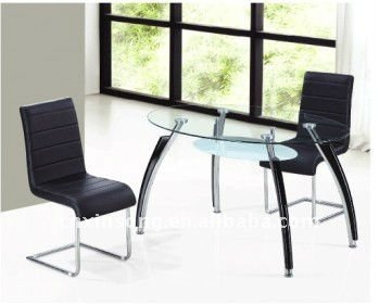 HEBEI BAZHOU XINSONG Modern tempered glass dinig table