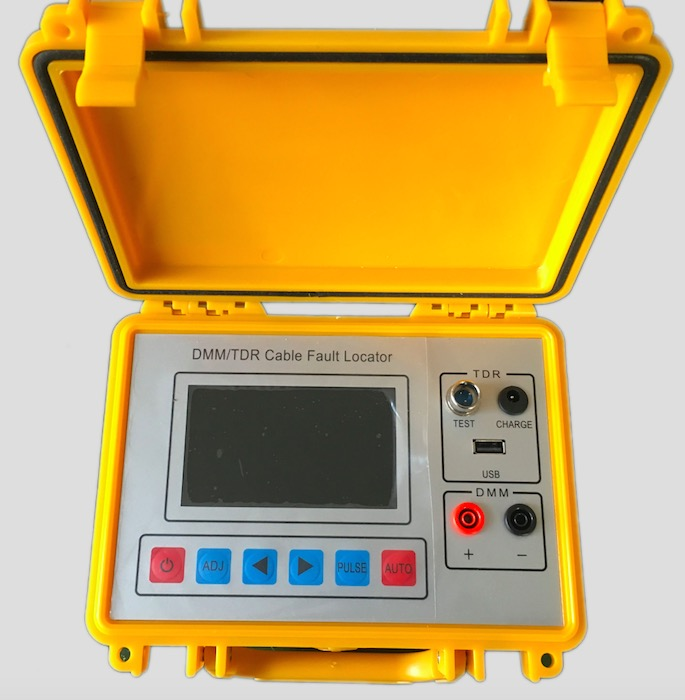 Cable Fault Locators : St b tdr cable fault locator telecom testing with
