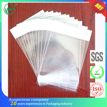 Wholesale clear opp header bag for pearls and jewels