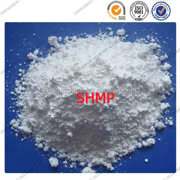 Widely used SHMP sodium hexametaphosphate 68% purity