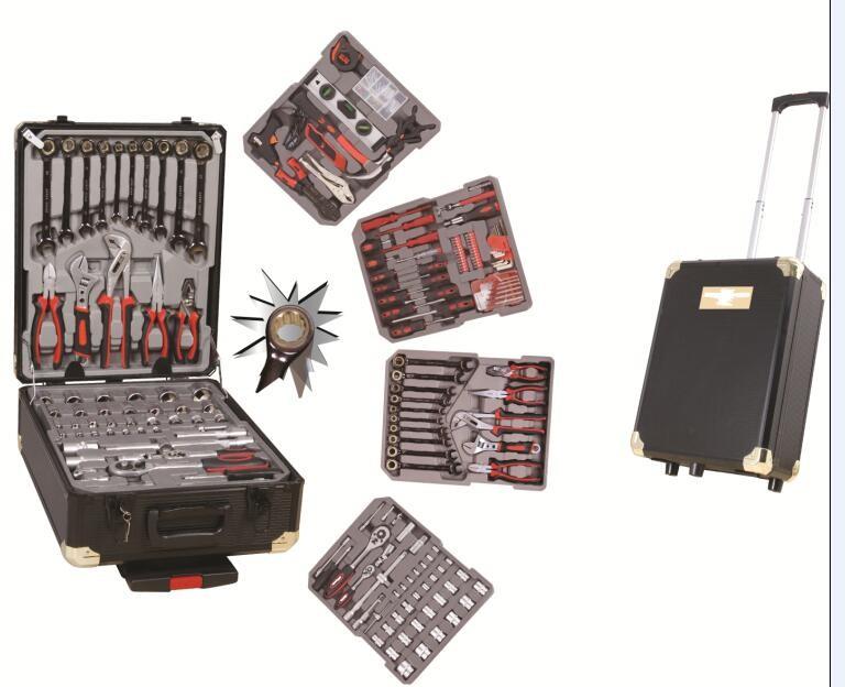 187 Pcs Swiss Kraft Alu Case Car Tool With Stubby Tool Set Tool ...