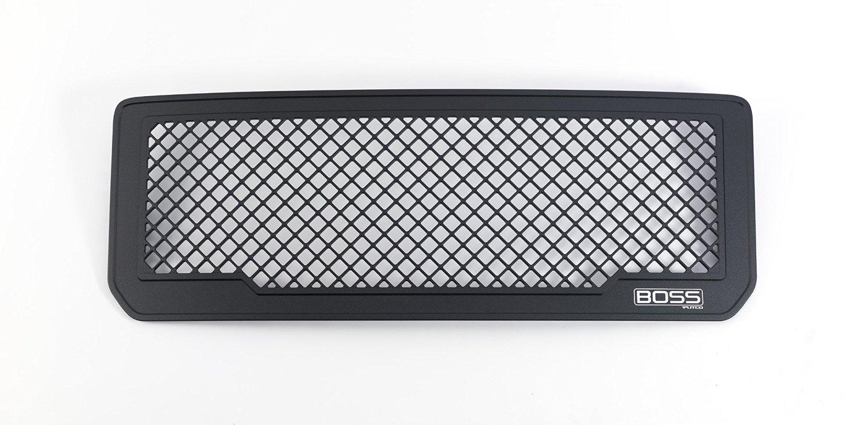 Putco Black Aluminum Boss Grille Insert for 2015 GMC Sierra HD