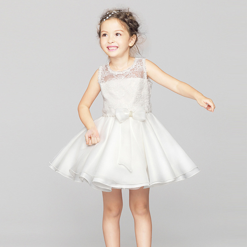 Latest Designer Kids Formal Long Frockes Dress One Piece Dresses For