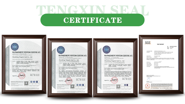 TXPS 405 Adjustable Luggage Plastic Security Seals for Cash Bags