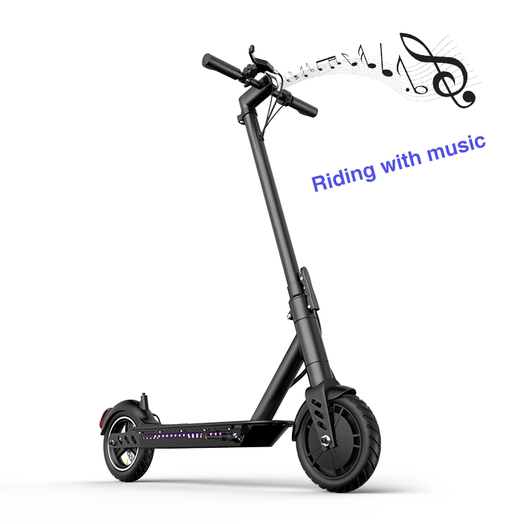 36V/ 8.7AH foldable high wheel electric scooter 8.5 inch 500w factory wholesale