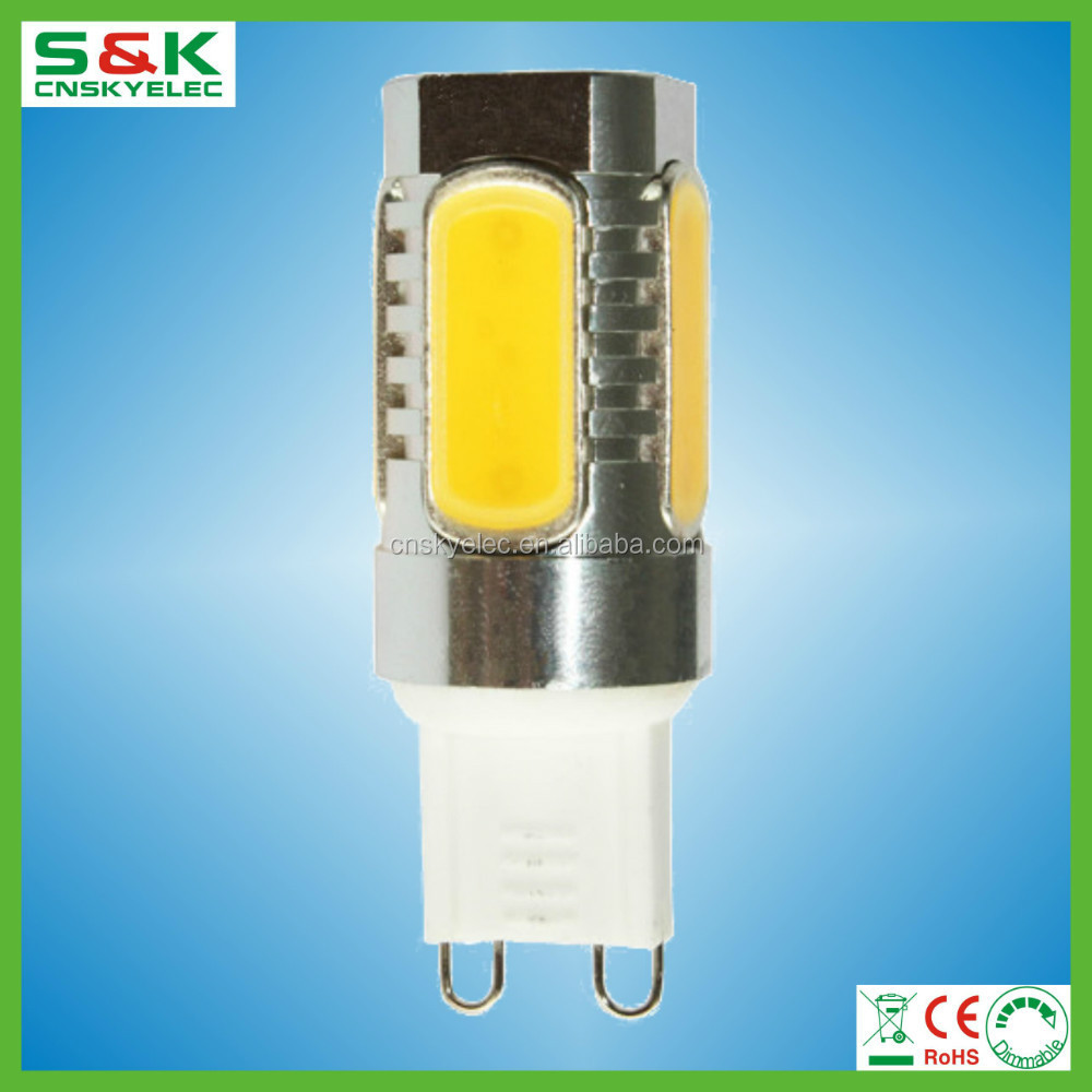 bulk buy from china led bulb 5w price aluminum led housing g4 to g9 lamp adapter