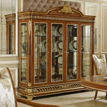 YB62 Luxury Antique Royal Living Room Sideboard Classic Wine Display  Decorated Cabinets Luxury Eruopean Villa Furniture