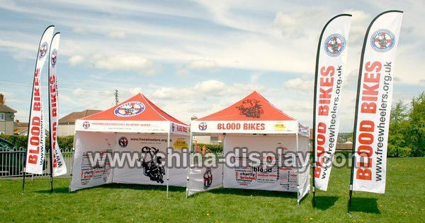 Hot Sales Events/ Exhibition/ Trade Show/ Car Show Flag For Advertising