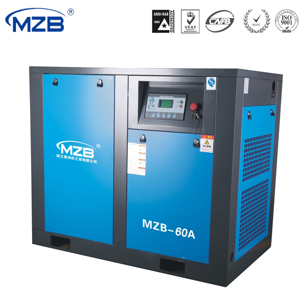 22kw/30hp Energy Saving Inverter Controlled 1000cfm screw air Compressor