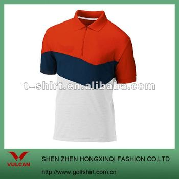 Dry fit lightweight colors combination sports polo shirts for Polo shirt color combination