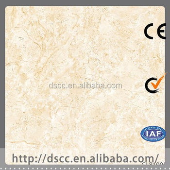 Italy Style Of Ceramic Tile Floor Underlay Polished Faux Marble