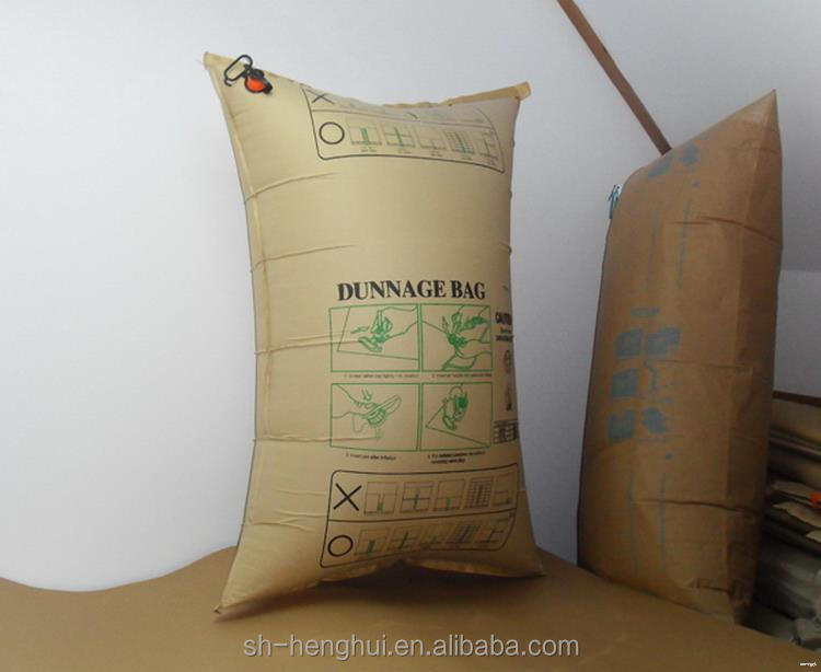 Bottom price discount inflatable pp woven air dunnage bag