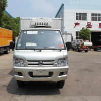 mini cold storage car refrigerated truck for Cold chain transporters of food
