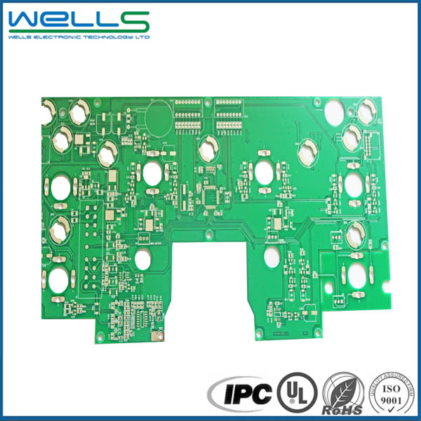 Fr4 Double Sided PcbPcb and fabrica de tarjetas electronics