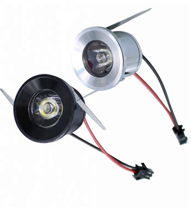 factory supply cheap price 30mm mini led spot light 1w 12v for shop