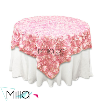 Pink Round Table.Colorful Table Overlay Wedding Supplies Round Table Cloth Pink Table Cover Buy Wedding Embroidered Table Overlays Cheap Wedding Table Overlay Gold