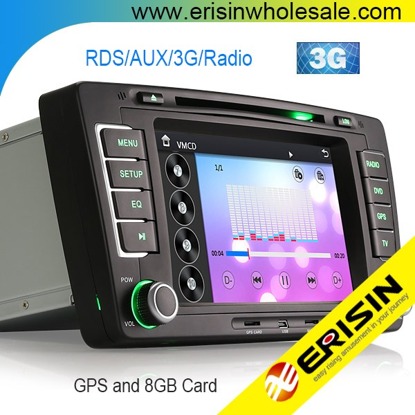 Erisin ES7699M 7 inch 2 Din Car DVD Player with RDS Radio