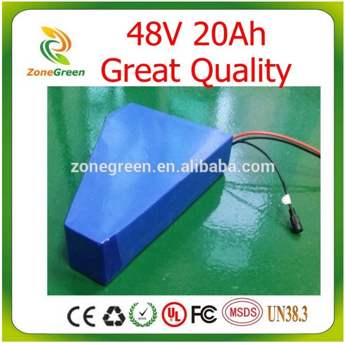 48v 20ah 30ah Lifepo4/LiNiCoMn2O4 Lithium Ion PVC Battery for ebike electric bicycle electric vehicle