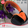Latest design solar energy charging TF+FM wireless bluetooth headsets