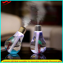 Modern Classic Ultrasonic Crystal Cooling Humidifier With Led Light