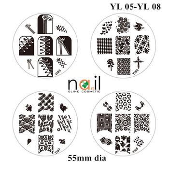Hot Sales Nail Image Plate Nail Art Stamp Kit Easy Diy Nail Stamping