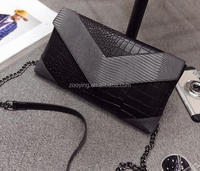 imitated Fake Crocodile pattern fashion Clutch envelope bag