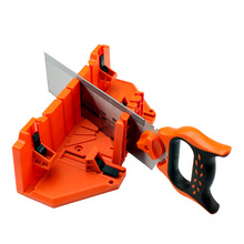 Mitre box with back saw 0/45/90 degree pruning saw wood cutting hand saw