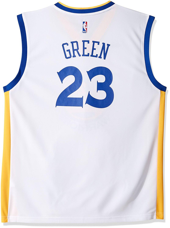 d3307b0fa Get Quotations · NBA Golden State Warriors Draymond Green  23 Men s Replica  Home Jersey